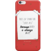 Larry Stylinson iPhone Case/Skin