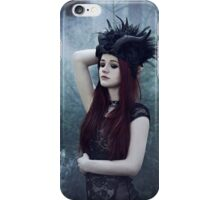 Beautiful gothic girl dark fantasy iPhone Case/Skin