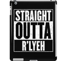 Straight Outta Rlyeh iPad Case/Skin