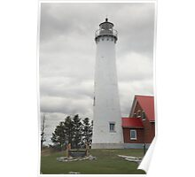 Lighthouse - Tawas Point, Michigan Poster