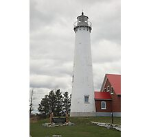 Lighthouse - Tawas Point, Michigan Photographic Print