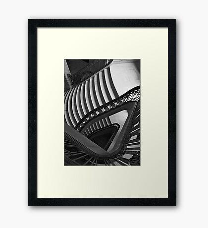 Spiral of Silence Framed Print