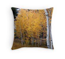 Aspen Grove in the Sierras Throw Pillow