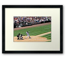 Mariners Verse the Yankees  Framed Print