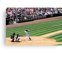 Mariners Verse the Yankees  Canvas Print