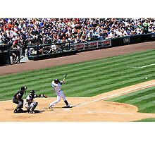 Mariners Verse the Yankees  Photographic Print