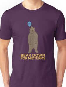 Bear Down for Midterms Unisex T-Shirt