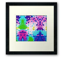 Colorful Mozaic Framed Print