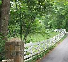 Entrance to Blackberry Farm Hotel  by JeffeeArt4u