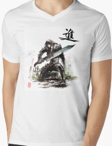 Squall Leonhart from Final Fantasy VIII Mens V-Neck T-Shirt