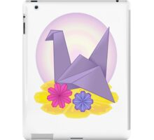 Origami Crane iPad Case/Skin