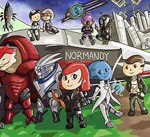 Mass Effect New Leaf by MeghanHART