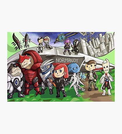 Mass Effect New Leaf Photographic Print