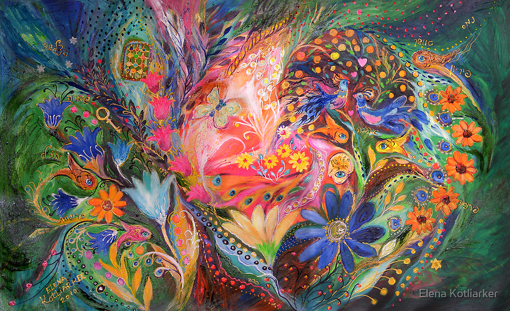 The Dance of Flowers by Elena Kotliarker