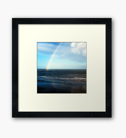The Rainbow 2 'b' Framed Print