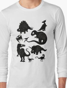 Silhouetted Dinosaurs T-Shirt
