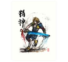 Tidus from Final Fantasy X Art Print