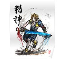 Tidus from Final Fantasy X Poster