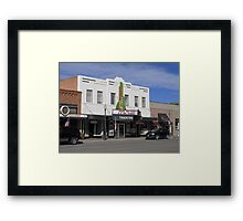 Cody, Wyoming - Theater Framed Print