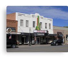 Cody, Wyoming - Theater Canvas Print