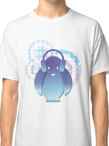 PENGUIN WITH HEADPHONE II Classic T-Shirt