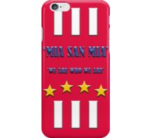 MIA SAN MIA iPhone Case/Skin