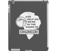 Hands of Engineers iPad Case/Skin