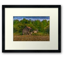 Heccas House Framed Print