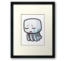 Minecraft - Ghost Framed Print