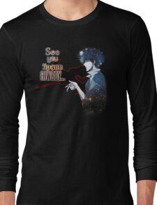 Spike Spiegel Space Cowboy Long Sleeve T-Shirt