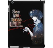 Spike Spiegel Space Cowboy iPad Case/Skin