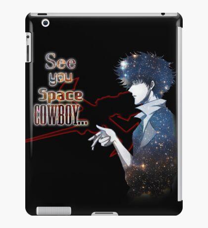 Spike Spiegel Space Cowboy iPad Case/Skin