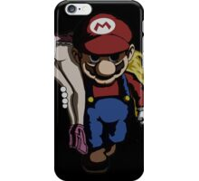 Mario Kidnap iPhone Case/Skin
