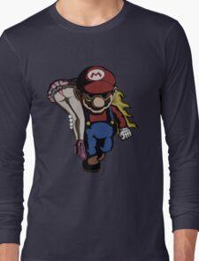 Mario Kidnap Long Sleeve T-Shirt