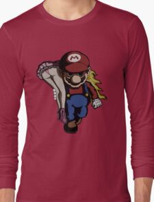 Mario Kidnap Long Sleeve T-Shirt