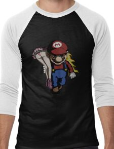 Mario Kidnap Men's Baseball ¾ T-Shirt