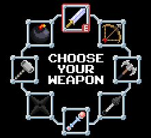 Choose Your Weapon by James Ridley