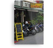 Bar at Chiang Mai Metal Print