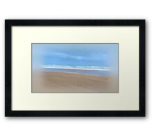 The Sea of Tranquility Framed Print