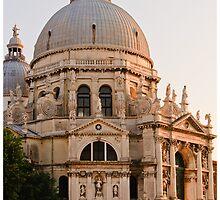 Santa Maria della Salute Afternoon by Paul Weston