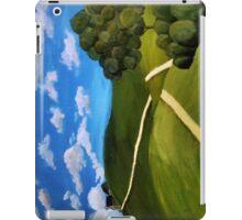 An Empty Footpath iPad Case/Skin