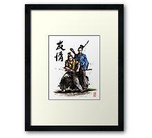 Kirk and Spock Samurai from Star Trek Framed Print