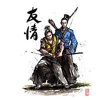 Kirk and Spock Samurai from Star Trek Photographic Print