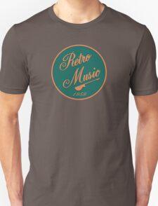 Vintage Retro Music 1959 Sign Unisex T-Shirt