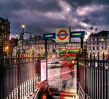 Subway Blur by GIStudio