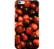 red cranberries iPhone Case/Skin