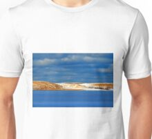 Winter at Silver Lake Sand Dunes Unisex T-Shirt