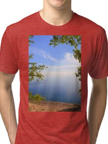The Beauty of Sleeping Bear Dunes National Lakeshore Tri-blend T-Shirt