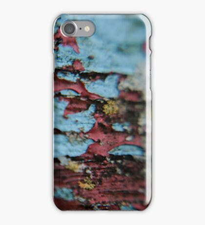 peeling bench iPhone Case/Skin
