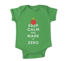 KEEP CALM - MARK IT ZERO One Piece - Short Sleeve